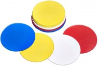 Sahni Sports Space Marker Pack Of 10 (Red, Orange, Green, Yellow, Blue Set Of 10)