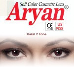 Aryan 2 Tone Hazel Yearly Contact Lens By Visions India