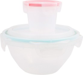 Snapware Nesting Bowl Boxes  - 1000 ml, 800 ml Plastic Food Storage
