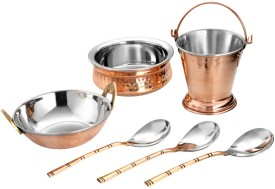 Copper Factory Cookware Set