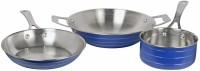 Gold Luck ss--blue Cookware Set