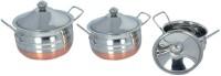 KCL Copper Base Handi Set 3 - Piece Cookware Set