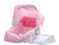 Delia 3 in 1 Baby Carry Cot Cots Pink