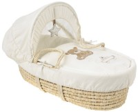 Mothercare Loved So Much Moses Basket Bassinet Cream
