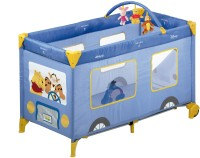 Hauck Disney Baby Dream n Play Mobile - Pooh Bus Cot Blue