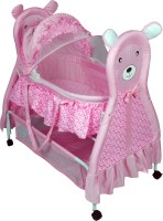 Sunbaby Cuddly Bear Bassinet Pink