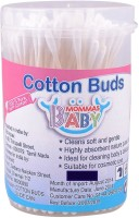 Mommas Baby Cotton Buds-White (Pack Of 100)