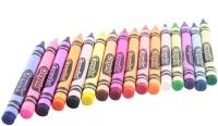 Crayola Triangular Shaped Wax Crayons (Set Of 16, Multicolor)