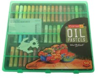 Camlin Art Round Shaped Oil Pastels Washable Crayons (Set Of 1, Multicolour)