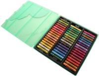 Camlin Super Round Shaped Oil Pastel Crayons (Set Of 50, Multicolor)