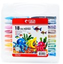 Titi Rectangle Shaped Oil Pastel Crayons - Set Of 1, Multicolor