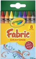 Crayola Triangular Shaped Wax Crayons (Set Of 8, Multicolor)