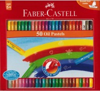 Faber Castell Expressionist Round Shaped Oil Crayons (Set Of 1, Red)