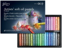 Mungyo Gallery Artists' Round Shaped Soft Oil Pastel Crayons (Set Of 1, Assorted)