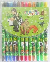 Aardee Round Shaped Rolling Crayons (Set Of 1, Multicolour)