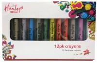 Hamleys Round Shaped Wax Washable Crayon (Multicolor)