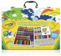 Crayola Round Shaped Wax Crayons - Set Of 4, Multicolor