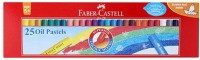 Faber-Castell Round Shaped Wax Crayons (Set Of 1, Multi)