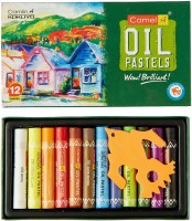 Camlin Funn Round Shaped Oil Washable Crayons (Set Of 1, Multicolor)