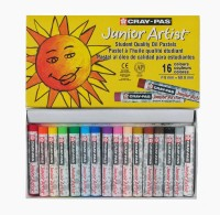 Sakura Round Shaped Oil Pastel Crayons (Set Of 2, Yellow)