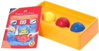 Faber Castell Triangular Shaped Wax Crayons (Set Of 3, Multicolor)