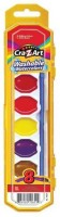 Cra-Z-Art Round Shaped Wax Crayon Washable Crayons (Set Of 1, Multicolor)