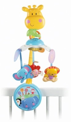 Fisher-Price Take Along Musical Mobile(2-in-1) - Multicolor