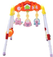 Littlegrin Music Baby Funness Rack Baby Play Gym For Baby Infant Toddler (Multicolor)