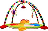 Ole Baby Twist And Fold Musical Activity Newborn PlayMat With Mosquito Net (Multicolor)