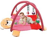 Tabby Toys Multicolor Foldable Activity Musical Teddy Bear Play Gym (Multicolor)