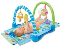 Fisher-Price At-Ow Kick & Crawl Rstg (Multicolor)