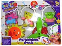 Shop & Shoppee Sweet Cuddle Musical Cot Mobile Early Development Toys (Multicolor)