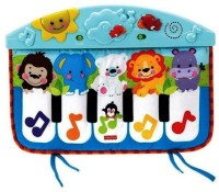 Fisher Price Kick And Play Cute Animal Piano For Kids (Multicolor)