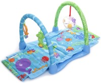 Fisher Price Ocean Wonders Kick & Crawl Aquarium Gym (Multicolor)