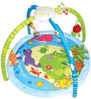 Toys Bhoomi Twist And Fold Aquarium Melodies & Lights Baby Activity Gym - Newborn Playmat (Multicolor)
