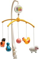 Mee Mee Baby Musical Animal Mobile (Multicolor)