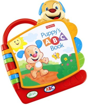 Fisher Price Laugh And Learn Puppy's ABC Book (Multicolor)