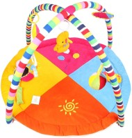 Ole Baby Twist And Fold Musical Activity Play Gym-Newborn Playmat (Multicolor)