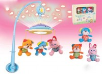 Parkfield Premium Developmental Baby Learning Toy - W/U MUSICAL MOBILE WITH LIGHT (Multicolor)