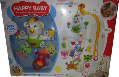 Toyzstation Crib Toys & Play Gyms Toyzstation Happy Baby Musical Mobile