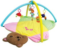 Toys Bhoomi Twist And Fold Little Teddy'S Baby Activity Gym - Newborn Playmat (Multicolor)