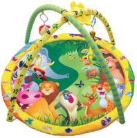 Toys Bhoomi Twist And Fold Fun Jungle Baby Activity Gym - Newborn Playmat (Multicolor)