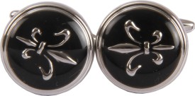 Satya Paul Metal Alloy Cufflink Silver