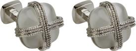 Gildermen Metal Cufflink Silver - CTPE5HYUHVS6QWYQ