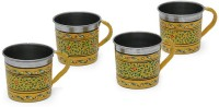 Kaushalam Cup Set Of 4 Yellow TCUP2 (Yellow, Pack Of 4)