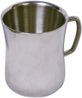 Dynamic Store Set Of 2 Double Wall Dhol Mugs DS_147 (Steel, Pack Of 2)