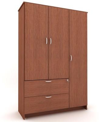 Housefull MARC 3D W/DRAWER WARD OAK Engineered Wood Almirah available at Flipkart for Rs.13900