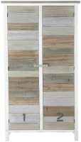 TheAttic Solid Wood Cupboard (Finish Color - White)