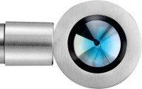 Windows Classic Light Blue, Silver Curtain Poles Pack Of 2