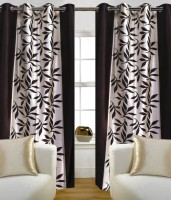 Hargunz 100% Polyester Door Curtain (Pack Of 2, 84 Inch/214 Cm In Height)